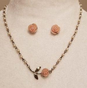 LC LAUREN CONRAD Earrings& Necklace Set